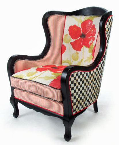 MacKenzie-Childs has several new designs for Spring of 2014. The underpinnings Furniture Collection has two new patterns Poppy and Tulip.  sc 1 st  The MacKenzie-Childs Blog & MacKenzie-Childs New Releases For 2014 | The MacKenzie-Childs Blog
